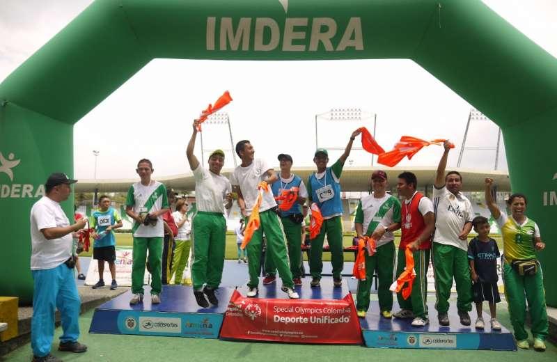 Festival de Discapacidad Special Olympics, todo un éxito