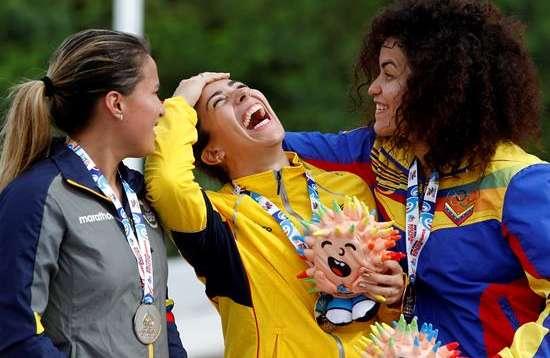 Mariana conquistó oro en el BMX de los Juegos Bolivarianos