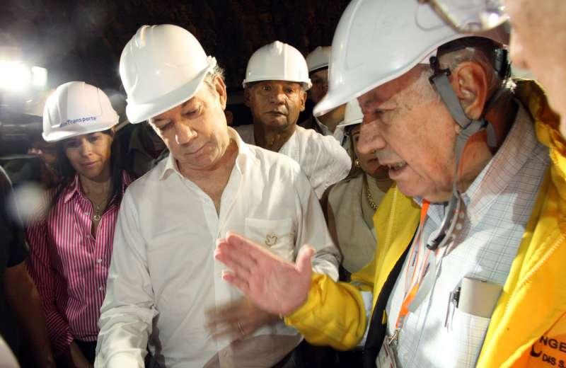 Santos ratifica que no alcanzará a inaugurar el Túnel de la Línea