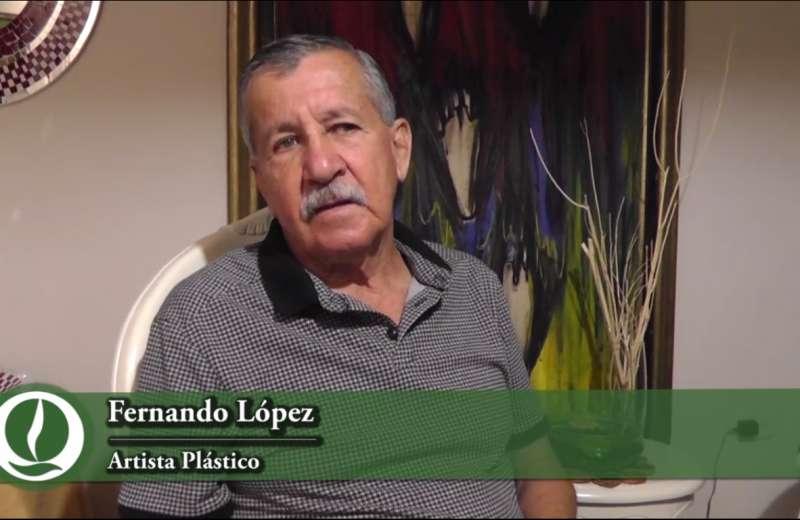 """Fernando López: """"El arte es una profesión muy bonita de la que se puede vivir con dignidad"""""""