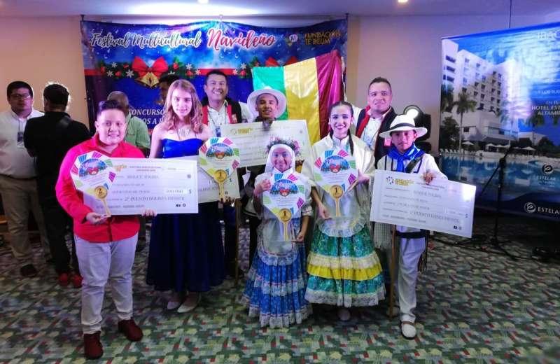 Con danza y música navideña Fundanza obtiene logros en concurso nacional