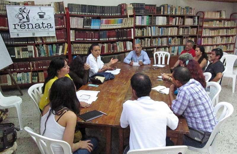 Visita guiada en la tertulia literaria Café y Letras Renata
