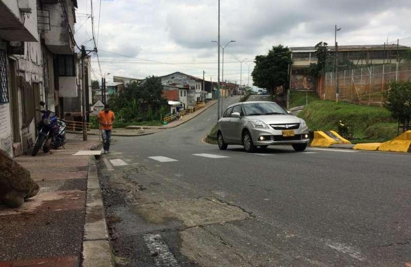 En el barrio Buenos Aires Alto piden reductores de velocidad para evitar más accidentes