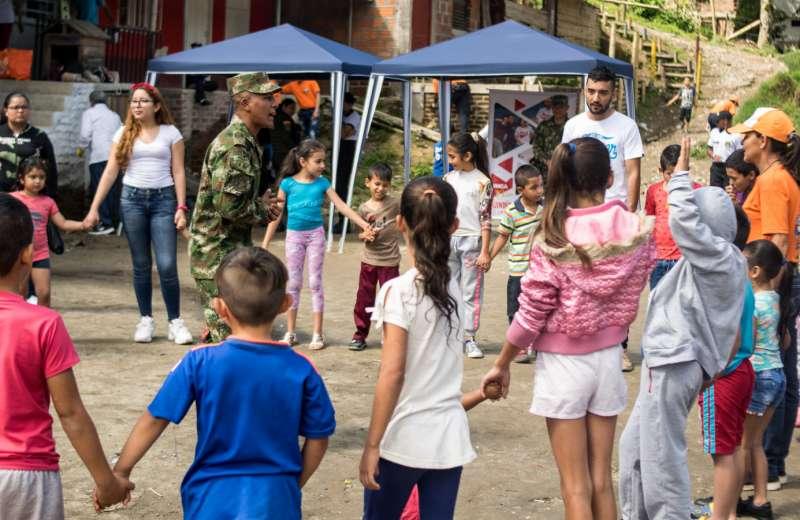 Jornada mundial de voluntariado tuvo actividades en Circasia