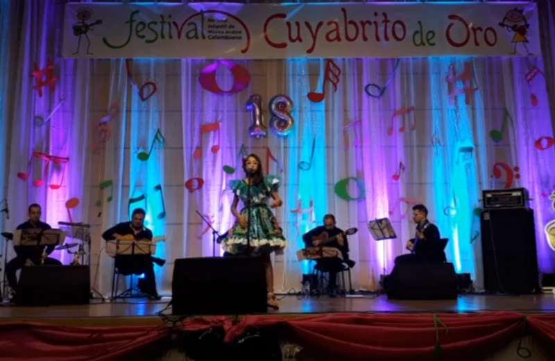 El festival de música Cuyabrito de Oro llegó a su edición 18 con mucho éxito
