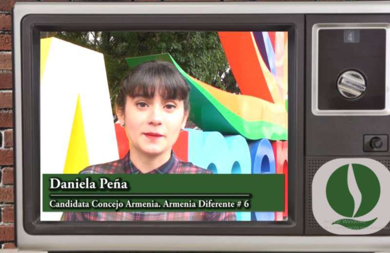 Daniela Peña, candidata al Concejo de Armenia