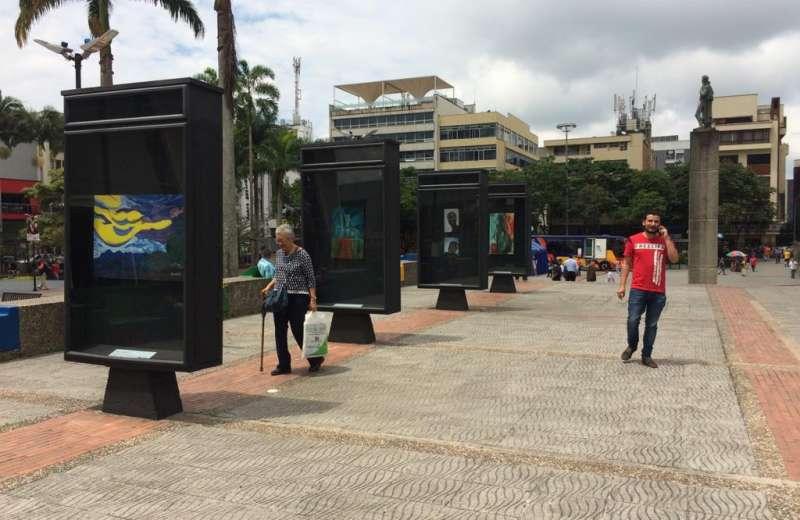 Nuestro Arte se expone en la plazoleta Centenario