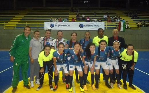 Caciques femenino arrancó a los cuartos de final en Bello, Antioquia