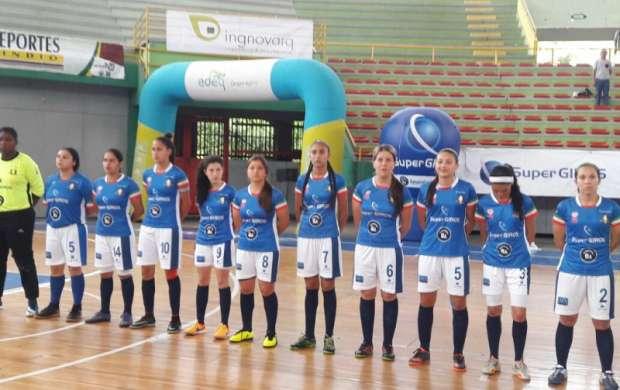 Caciques Femenino clasificó a la seminal de Copa profesional de microfútbol.