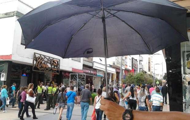 Crónica: Trabajando bajo la lluvia