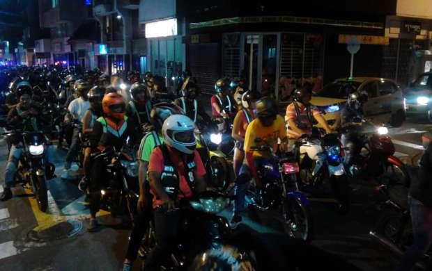 Motocilistas salieron a exigir rebaja en el precio del Soat