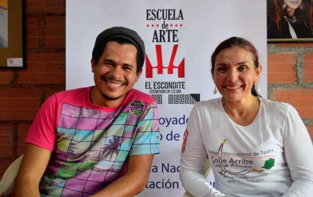 Mara Trujillo encontró en el teatro el amor de su vida