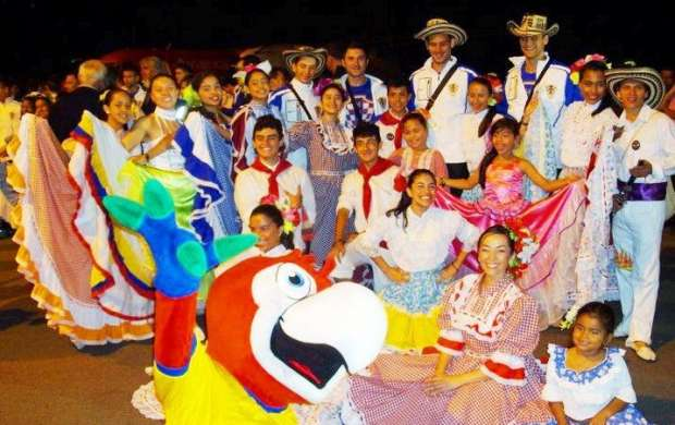 El folclor latinoamericano se presenta hoy en La Tebaida