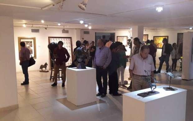 Exposición del Salon de Artístas Quindianos