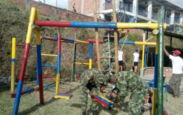 Embellecimiento e inclusión en el barrio Las Colinas