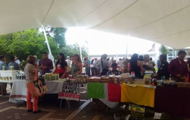Hoy mercado agroecológico en Armenia