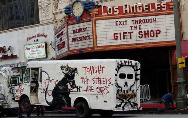 Cine: La irreverencia y el misterio en el arte callejero de Banksy