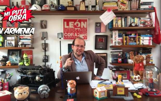 """""""Que el humor sea nuestra venganza"""": Daniel Samper Ospina presenta su show en Armenia"""