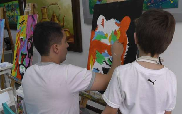 """""""El arte hace sensibles a las personas"""": German David Ramírez Machado"""