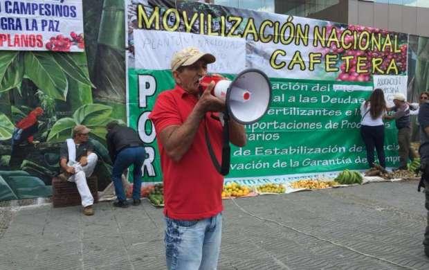 Dignidad Cafetera en el Quindío se sumará al paro nacional en Junio
