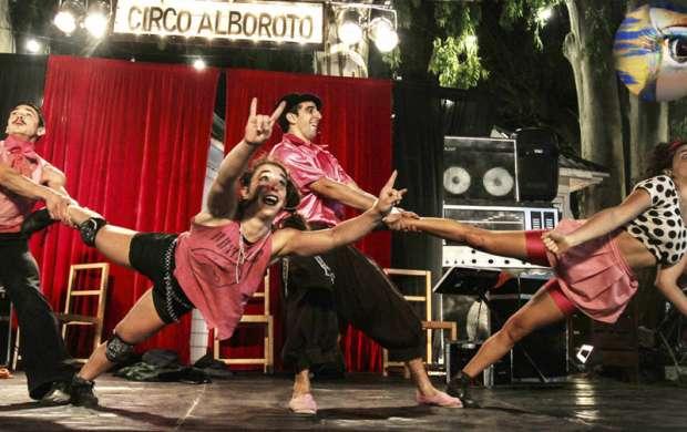 Circo para toda la familia hoy en el 18º Festival de Artes Armenia