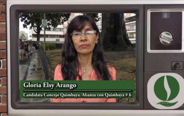 Gloria Elsy Arango, candidata al Concejo de Quimbaya
