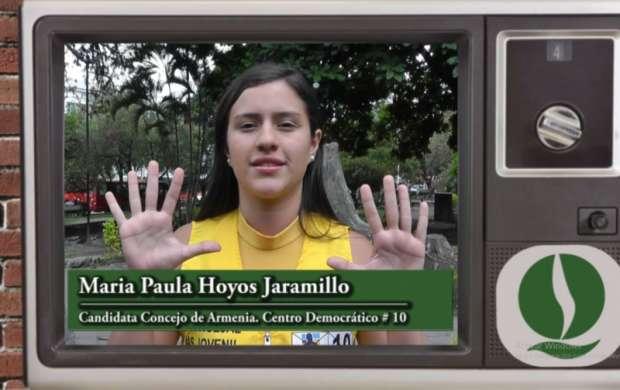 Maria Paula Hoyos Jaramillo, candidata al Concejo de Armenia