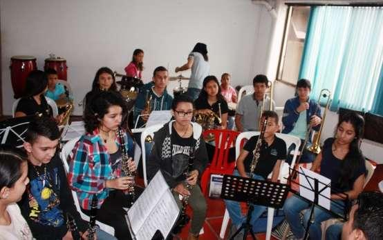 Última presentación de la banda sinfónica juvenil de Armenia en este 2019