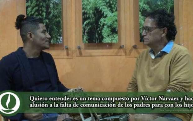Voces Mágicas, un proyecto artístico con niños que Víctor Narvaez quiere llevar al éxito