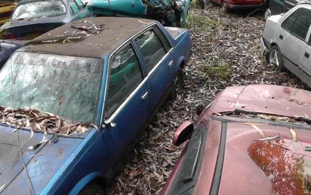 Cementerio de carros en el centro de Armenia afecta a la comunidad