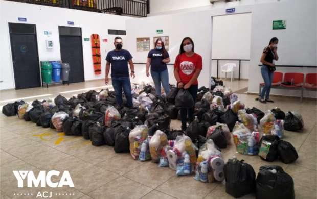 La A.C.J en el Quindío entrega ayudas a familias y personas vulnerables
